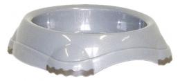 Miska MAGIC CAT plastová protiskluzová šedá 210ml