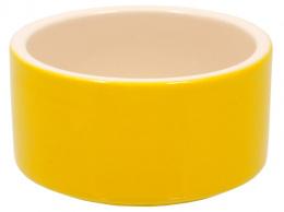 Miska Small Animals  keramická žlutá 10 cm
