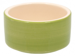 Miska SMALL ANIMAL keramická  zelená 10 cm