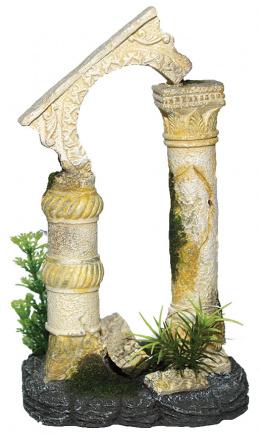 Dekorace AQUA EXCELLENT antické sloupy 12,5 x 10,5 x 20 cm