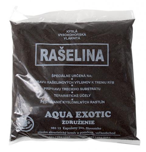 Náplň rašelina vláknitá AQUA EXOTIC 150g title=