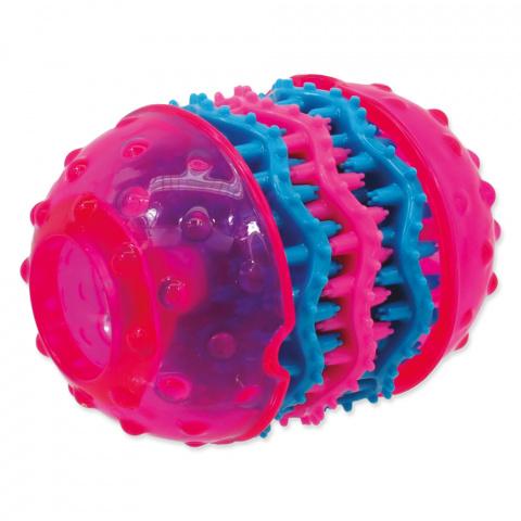 Dog Fantasy Dental hračka růžová 10.8cm title=