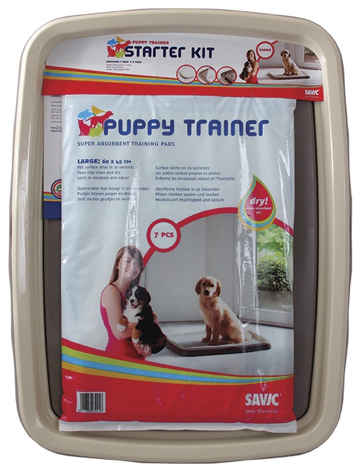 Toaleta + podložky SAVIC Puppy trainer L