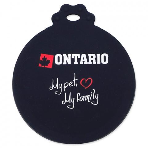 Silikonové víčko Ontario na konzervy S/M title=