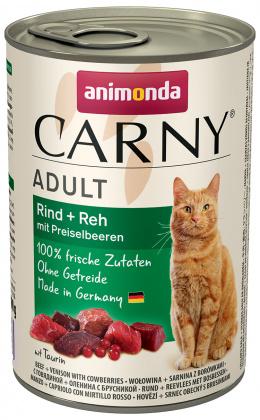 Konzerva ANIMONDA Carny Adult hovězí + zvěřina s brusinkami 400g