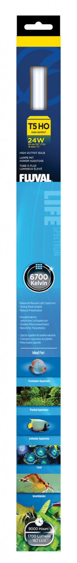 Zářivka FLUVAL Life T5 - 54,9 cm 24w