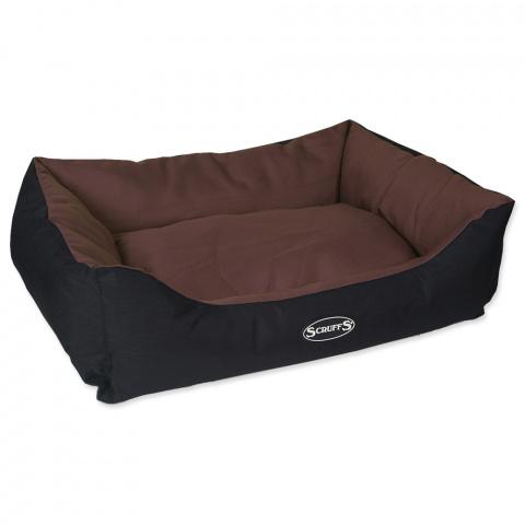 Pelíšek SCRUFFS Expedition Box Bed čokoládový 75cm