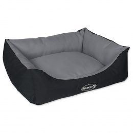 Pelíšek SCRUFFS Expedition Box Bed šedý 60cm