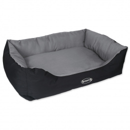 Pelíšek Scruffs Expedition Box Bed 90cm šedý