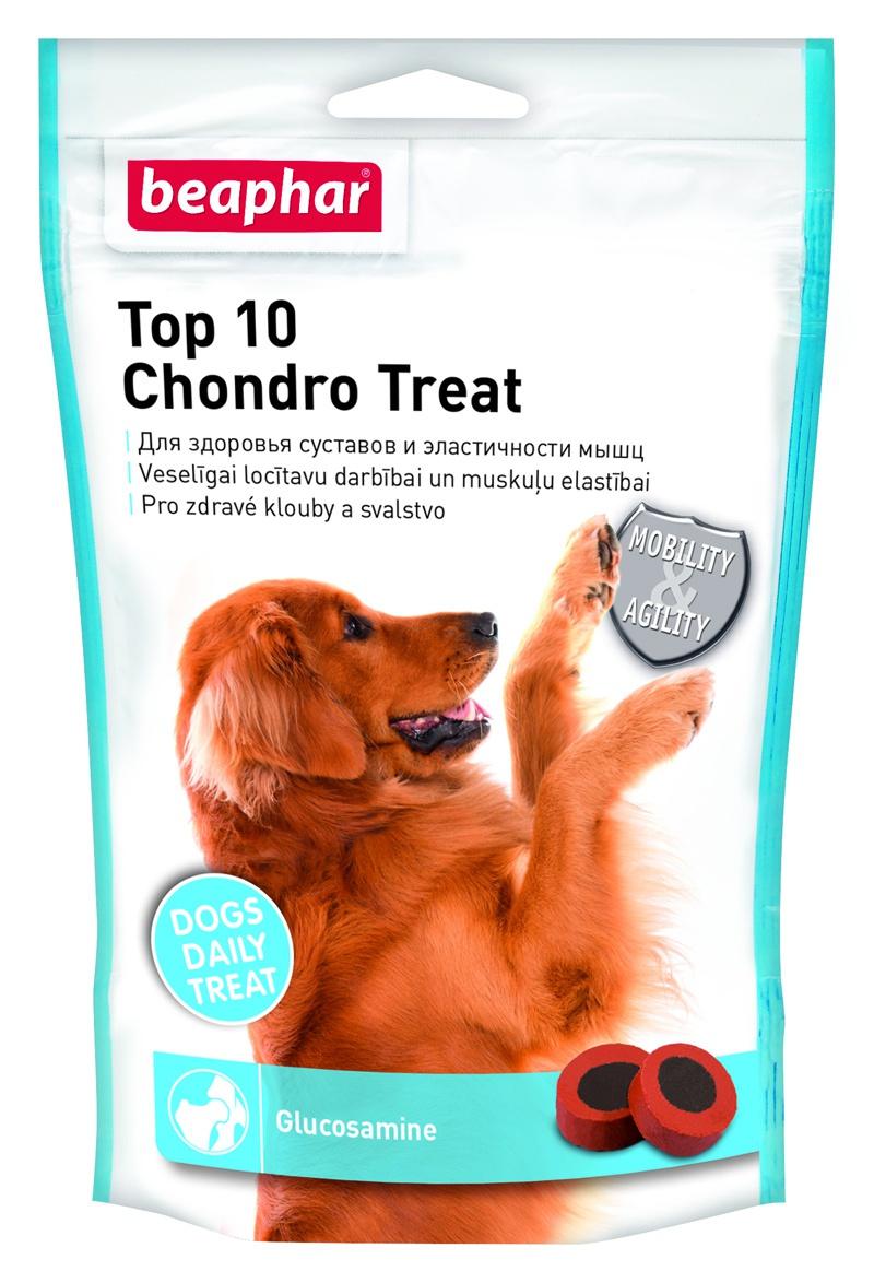 Doplňek stravy s glucosaminem Beaphar Top 10 Chondro Treat 150 g