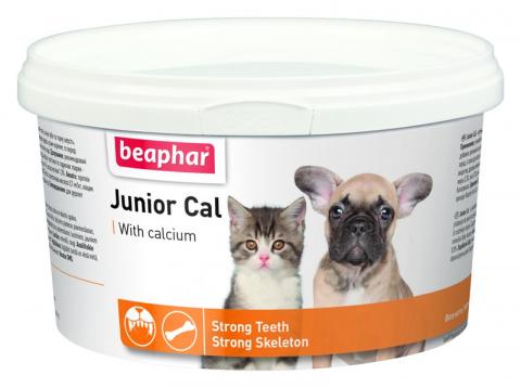 Doplněk stravy Beaphar Junior Cal 200 g