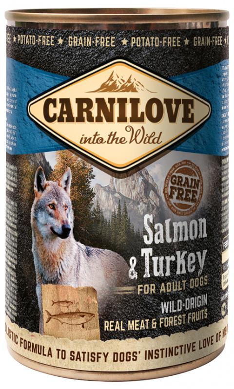 Konzerva Carnilove Wild Meat Salmon & Turkey 400g title=