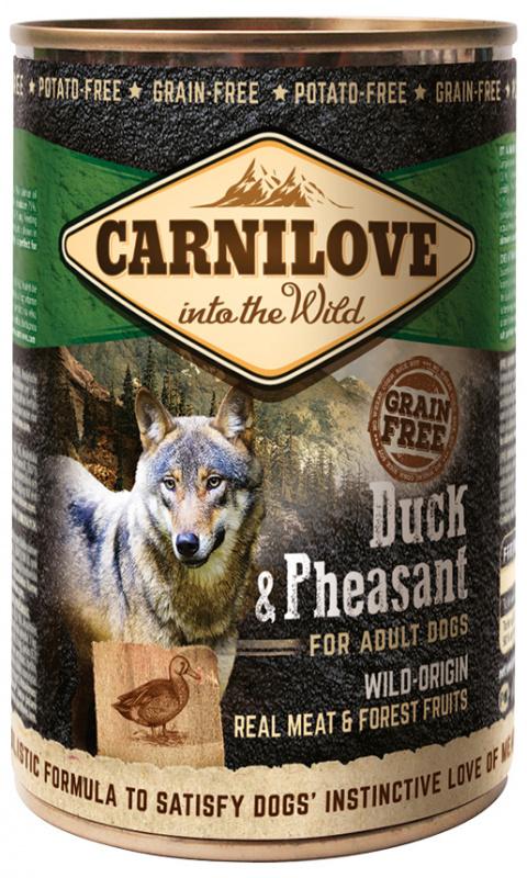 Konzerva Carnilove Wild Meat Duck & Pheasant 400g title=