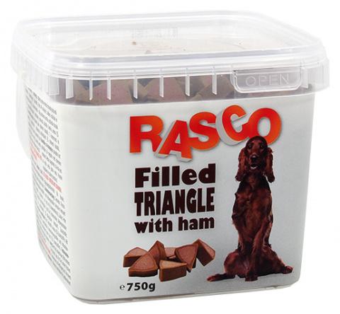 Pochoutka Rasco plněné trojúhelníčky se šunkou 750g