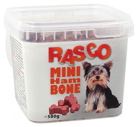 Pochoutka Rasco mini kost šunková 2cm 580g