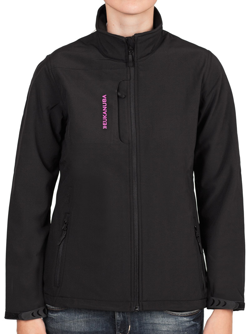 Softshell bunda Eukanuba dámská černá M