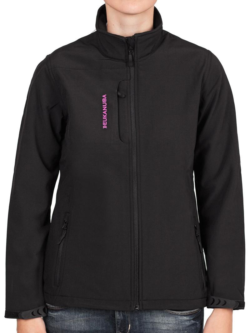 Softshell bunda Eukanuba dámská černá XS