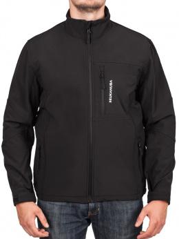 Softshell bunda Eukanuba pánská černá