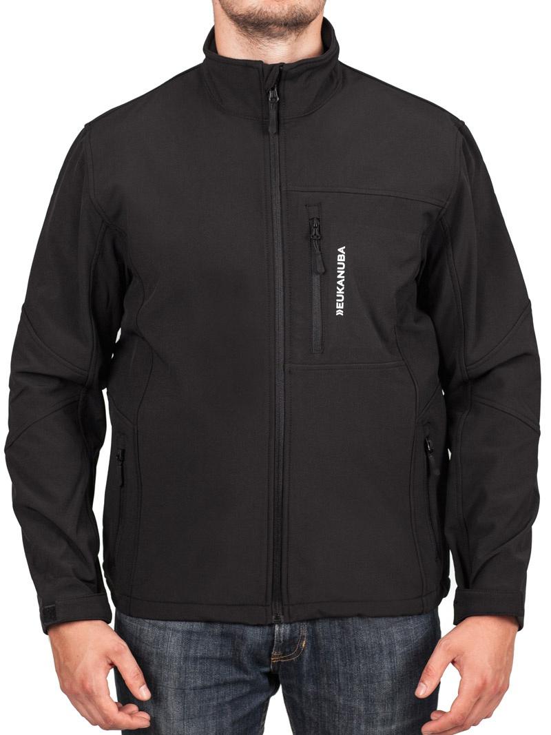 Softshell bunda Eukanuba pánská černá L