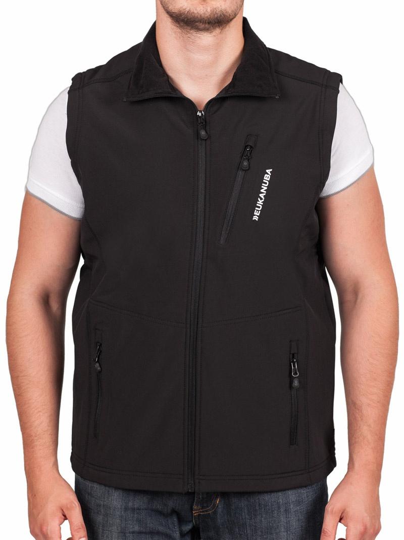 Softshell vesta Eukanuba pánská černá XL