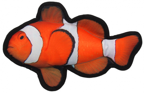 Hračka Dog Fantasy Textile Ryba Klaun 26cm