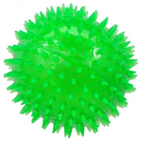 Hračka Dog Fantasy míček zelená 12cm