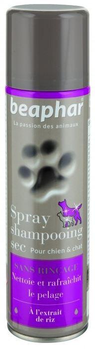Suchý šampon ve spreji Beaphar 250 ml