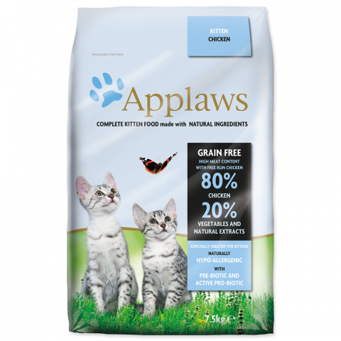 Krmivo Applaws Cat Kitten 7,5kg title=