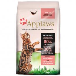 Krmivo Applaws Cat kuře & losos 7,5kg