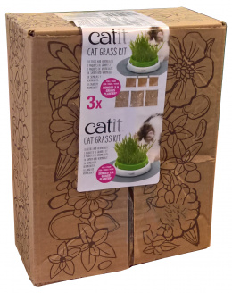 Catit Cat Grass Kit, set of 3