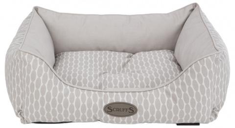 Scruffs Siesta Box Bed M 60x50cm sv. hnědý