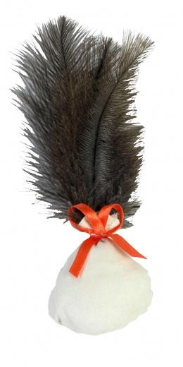 Hračka s peřím catnip 4