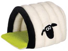 Shaun cuddly cave cream/green 45 × 35 × 50 cm
