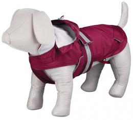 Bunda pro psy Trixie Iseo coat bordeaux L 55cm