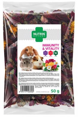 Pamlsek NUTRIN Nature Immunity & Vitality pro hlodavce 50g