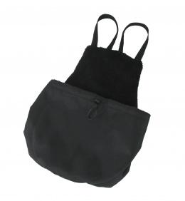 Taška klokanka de luxe černá 42x40cm