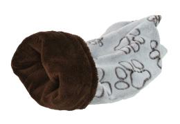 Pelíšek Tulipytlík hnědá tlapka 35x50cm