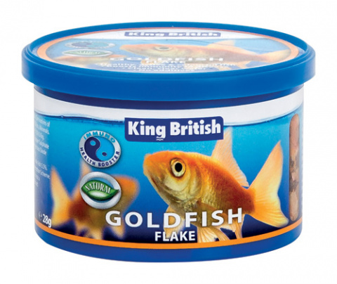 King British Goldfish Flake (With IHB) 28g