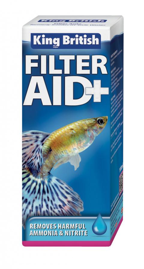 King British Filter Aid+. 100ml