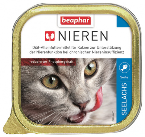 Beaphar ledvinová dieta pro kočky s treskou 100 g