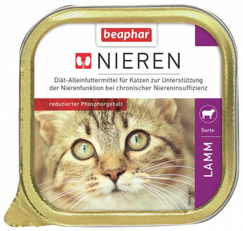 Beaphar Nieren pro kočky s jehněčím 100g