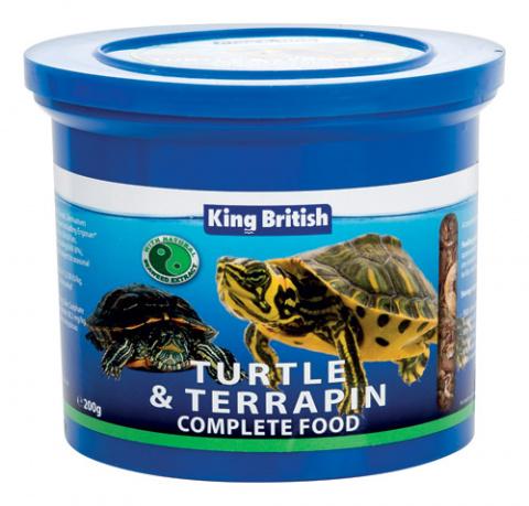 King British Turtle and Terrapin Food 200g