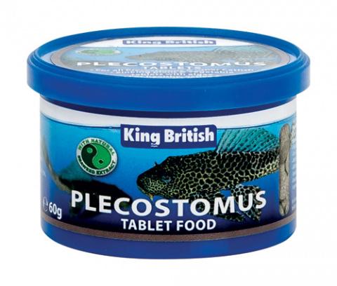 King British Plecostomus Food Tablets 60g
