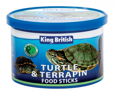 King British Turtle and Terrapin Food Sticks 110g