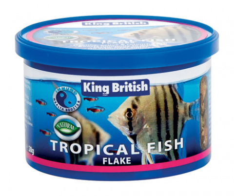 King British Tropical Flake  (With IHB) 28g