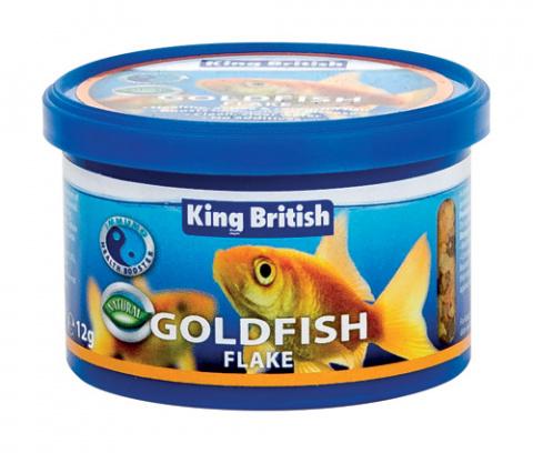 King British Goldfish Flake (With IHB) 12g