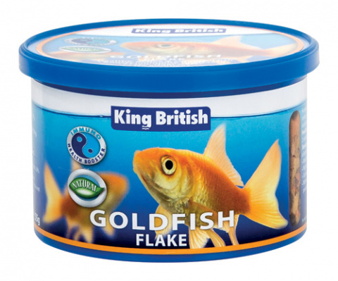 King British Goldfish Flake (With IHB) 55g