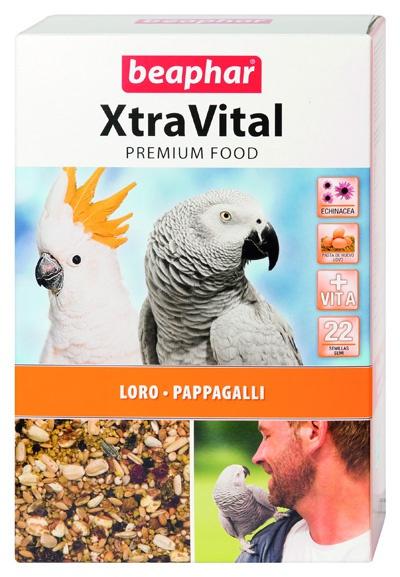 Krmivo BEAPHAR XtraVital pro velké papoušky 1kg