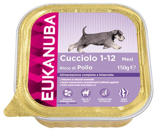 Vanička Eukanuba Puppy Chicken 150g