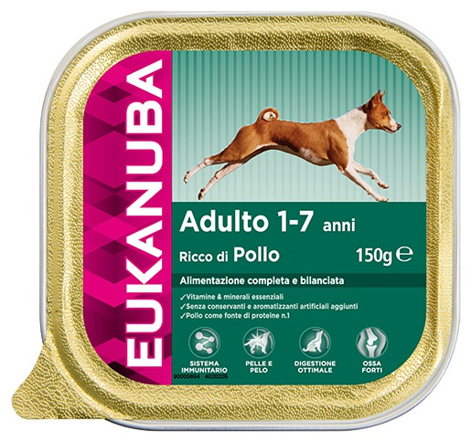 Vanička Eukanuba Adult Chicken 150g